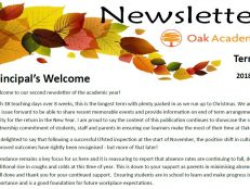 2018-19 Term 2 Newsletter