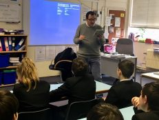 Year 9 Anthony McGowan visit