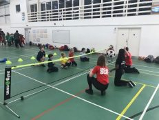 Oak Leaders assist at Dorset School Games